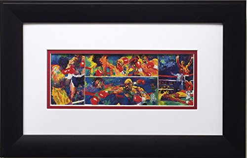 LeRoy Neiman Marvelous Marvin Hagler vs Thomas Hearns Newly Custom Framed Art Print