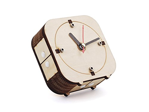 In ZIYUN Back in Time - Make your wooden counter-clockwise clock,DIY clock kit,Create space,Wooden clock kit