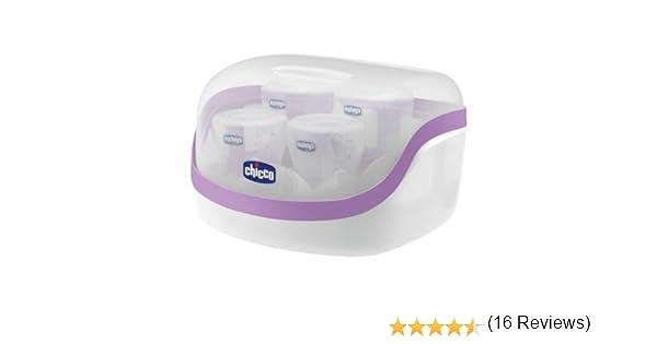 Chicco 00065846400200 - Esterilizador de microondas: Amazon.es: Bebé