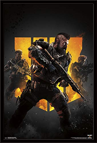 Trends International Call of Duty: Black Ops 4 - Group Key Art Wall Poster, Multi