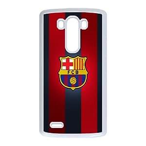 LG G3 Cell Phone Case White Barcelona P6698773