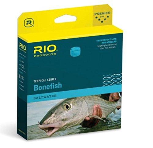 Cheap RIO Fly Fishing Fly Line Bonefish Wf7F Fishing Line, Sand/Blue