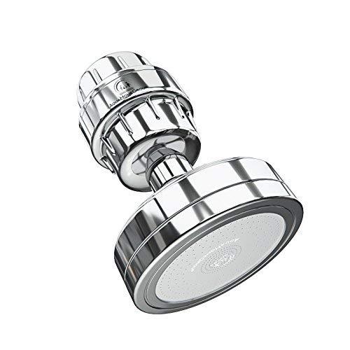 Luxury Filtered Shower Head Set 15 Stage Shower Filter For Hard