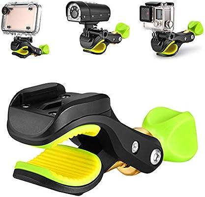 XQxiqi689sy Soporte para Manillar de Bicicleta para cámara GoPro ...