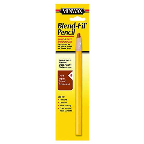 - Minwax 110066666 No 6 Blend-Fil Wood Repair Stain Pencil, Early American