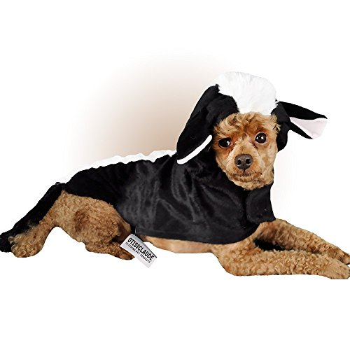 Otis and Claude Fetching Fashion Skunk Costume LARGE - Skunk Costumes For Dog