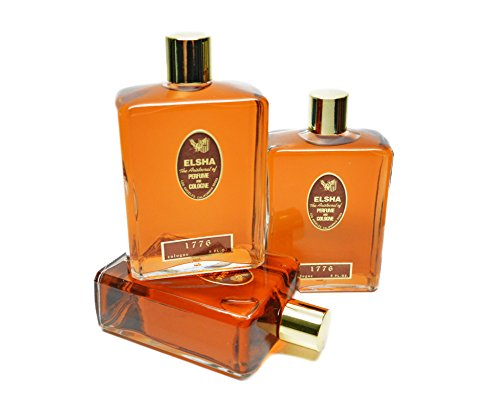 3 PAK 8 Oz Bottles of Elsha Cologne by ELSHA