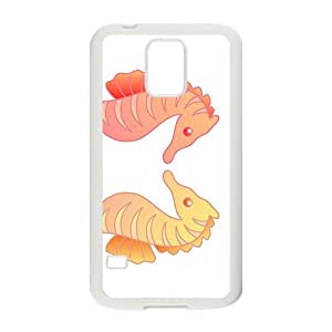 Cartoon Sea Horse Hight Quality Plastic Case for Samsung Galaxy S5