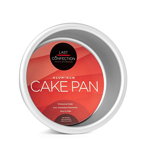 Last Confection Round Aluminum Cake Pan - Professional Bakeware (Multiple Sizes)