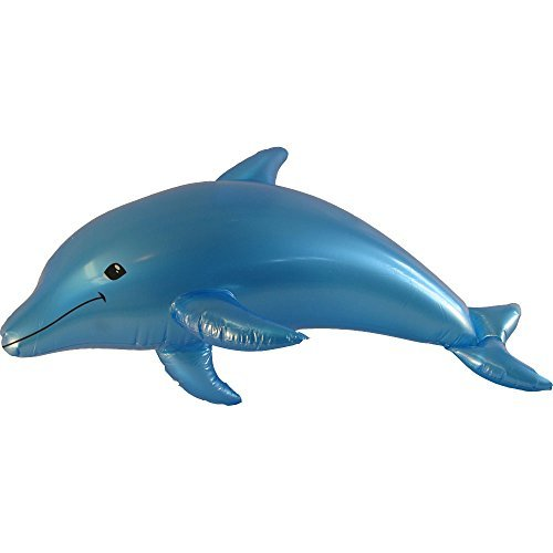 Inflatable Colored Dolphin Prop Decoration Blue product image