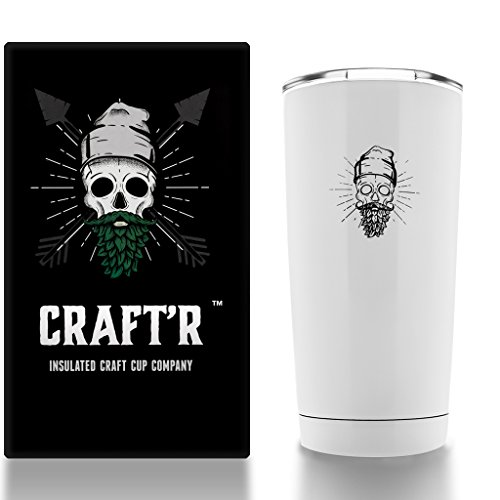 Craftr Insulated Beer Cup Temperature