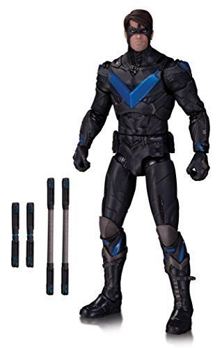 DC Collectibles Batman Arkham Knight: Nightwing Action Figure (Catwoman Arkham City)