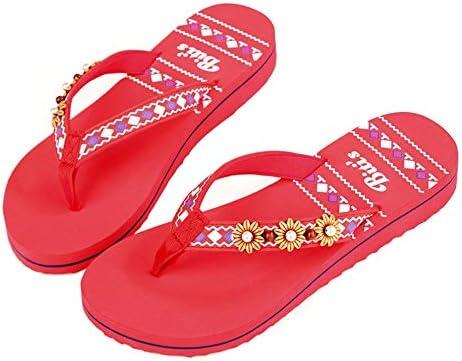 Hausschuhe Flip-Flops Weibliche Clipfüße Sandalen Und Hausschuhe Innen Und Außen rutschfeste Verschleißfeste Leichte Flache Sommermode Lässige Strandschuhe Schwarz (Color : Red, Size : 39)