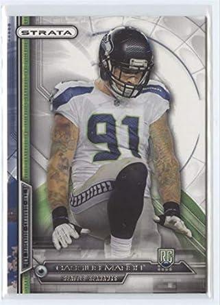 buy online 14410 21872 Amazon.com: 2014 Topps Strata #101 Cassius Marsh Seahawks ...