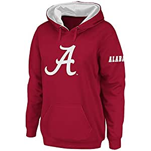 Womens NCAA Alabama Crimson Tide Pull-over Hoodie (Team Color) - L