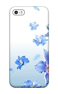 Iphone 5/5s Case, Premium Protective Case With Awesome Look - Happy Lilac Flowers wangjiang maoyi