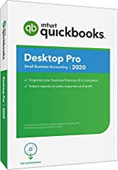 Quickbooks desktop Pro helps you organize your business finances all in one place so you can be more productive. Simple to set up and use. Stay on Top of invoices, manage expenses, get reliable reports for tax time and import your data from a...