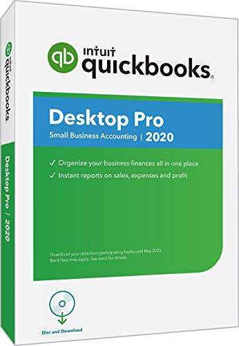 QuickBooks Desktop Pro 2020 Accounting Software for Small Business with Amazon Exclusive...