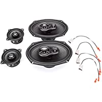 1986-1992 Volkswagen Vanagon Complete Factory Replacement Speaker Package by Skar Audio