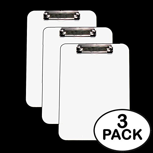 Clipboards White Flat Inches Units