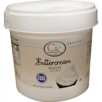 Ck Products White Buttercream Icing 8 lbs (Best Wedding Cake Frosting)