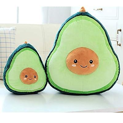 MangoRun Fruit Cute Doll Plush Avocado Pillow Plush Toy,10 inch Small: Home & Kitchen
