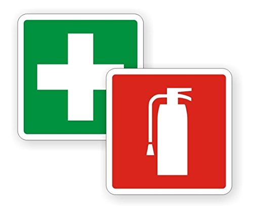 Used, 2 PCs Unblemished Popular Fire Extinguisher First Aid for sale  Delivered anywhere in USA