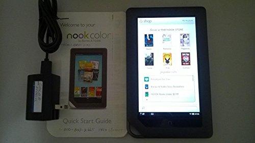 Barnes & Noble BNRV200 8GB NOOK Color Wifi eReader 7 (Slate) (Best Color Ereader Tablet)