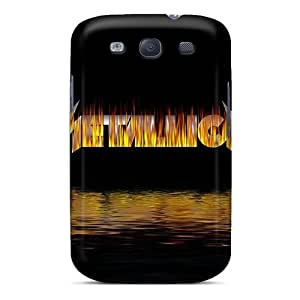 Durable Defender Cases For Galaxy S3 Tpu Covers(metallica)