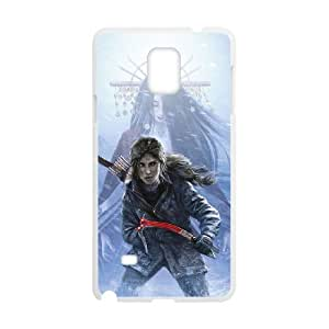 Winfors Rise Of The Tomb Raider Lara Croft Phone Case For Samsung Galaxy note 4 [Pattern-3]