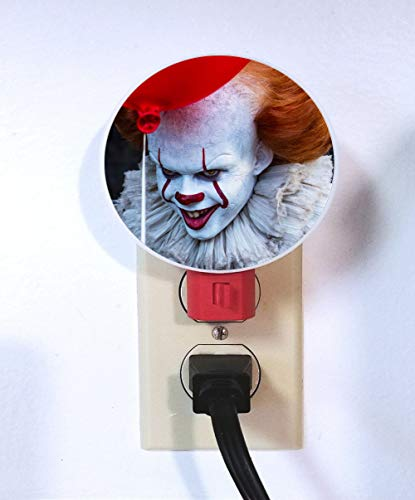 Pennywise Night Light - plug in lamp - wall light, nightlight, IT, clown by GiftStopDesigns