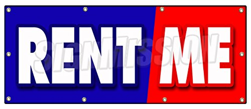 36x96 Rent ME Banner Sign Tools Trucks Cars Building Furniture Party Goods