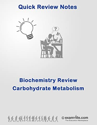 Biochemistry Quick Review: Carbohydrate Metabolism (Digestion and Glycolysis) (Quick Review Notes) (Ap Biochemistry)
