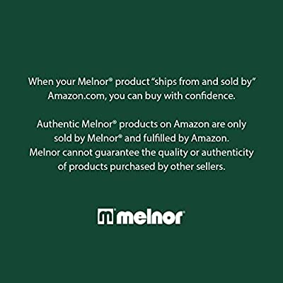 Melnor 65057-AMZ Metal 7-Pattern Nozzle with QuickConnect Product Adapter Set Bundle