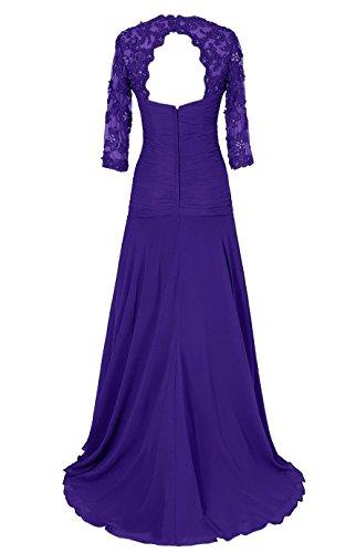 Promworld Women's Lange ?rmel Schatz Mother of the Bride Dress Grey opJpIymNnp