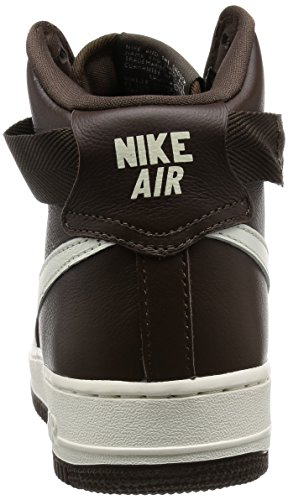 Retro White Air Choc Men Force 1 Qs Hi Brown Shoes 's Sail Handball NIKE ZqYHnUx