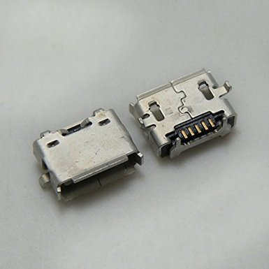 Micro USB Jack / Charging Port Receptacle Replacement Part for Dell Venue 8 Pro 32GB Tablet