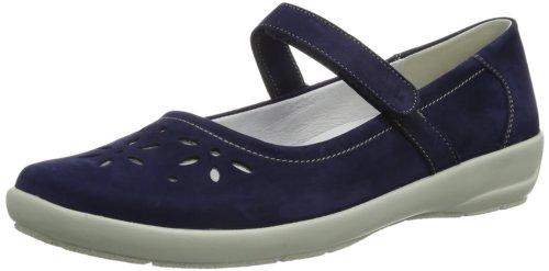 Femme 072 Flora aqua Blau Bleu Pantoufles Semler fSwUWOq