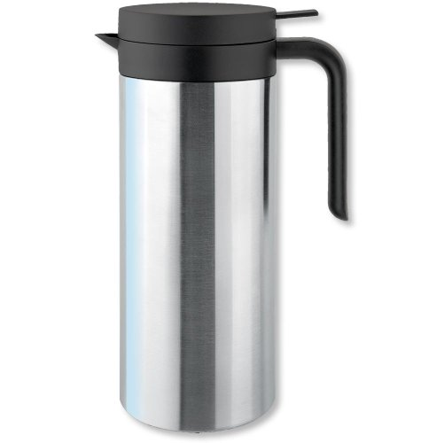 Isosteel Tableline Va-9335k 1.0 Liter 34 Fl. Oz. 18.8 Stainless Steel Vacuum Carafe by Isosteel