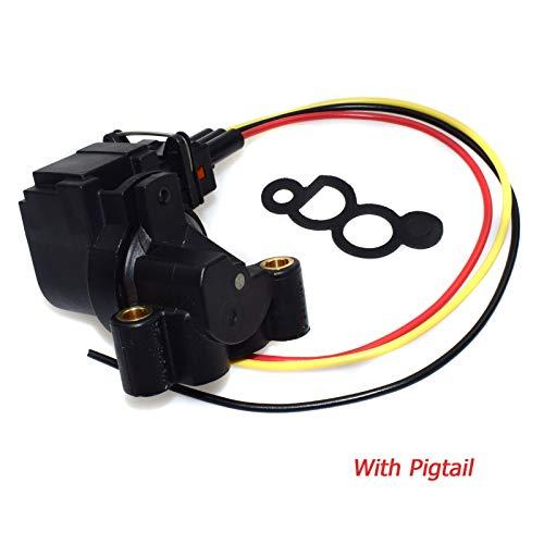 WOLFIGO New Idle Air Control Valve Control W/or W/O pigtail Connector For BMW E36 E46 0280140575,13411247988,13411435846
