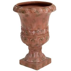 Best Selling Antique Adana Turkish Urn Planter, 26-Inch, Green