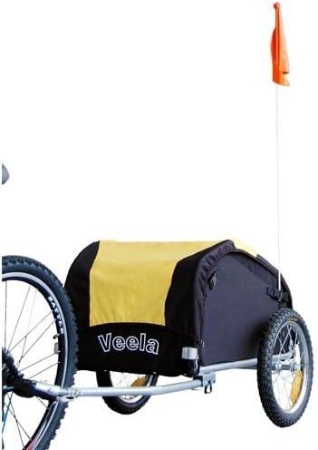Remolque de bicicleta para equipaje de 16