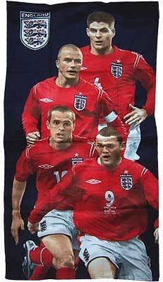 Linens Limited England FA Caras Toalla de baño, Rojo: Amazon.es: Hogar