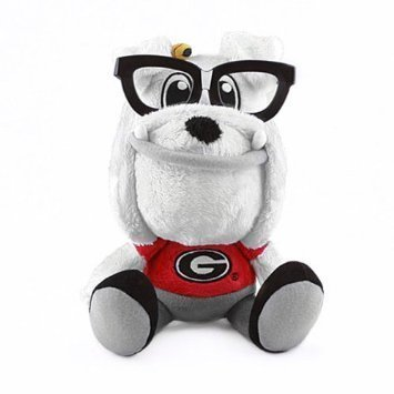 Fabrique Innovations NCAA Study Buddy Mascot Plush Toy, Georgia Bulldogs -