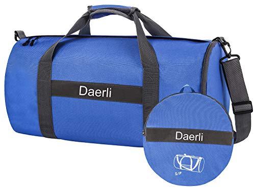 Dimayar Travel Duffle Bag For Women Men Foldable Duffel Bags For Luggage Gym Sports