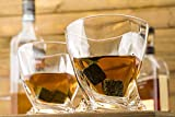 Whiskey Stones and Whiskey Glass Gift Boxed Set, 8