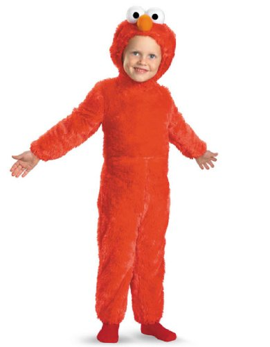 Elmo Comfy Fur Costume - Small (2T)