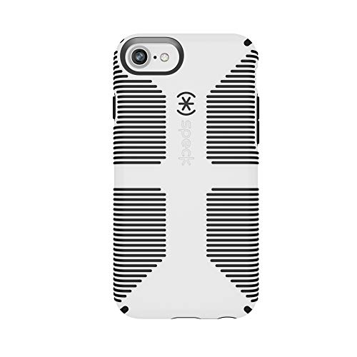 Speck Products CandyShell Grip iPhone 7 Case (Also Fits iPhone 6 and iPhone 6S), White/Black from Speck