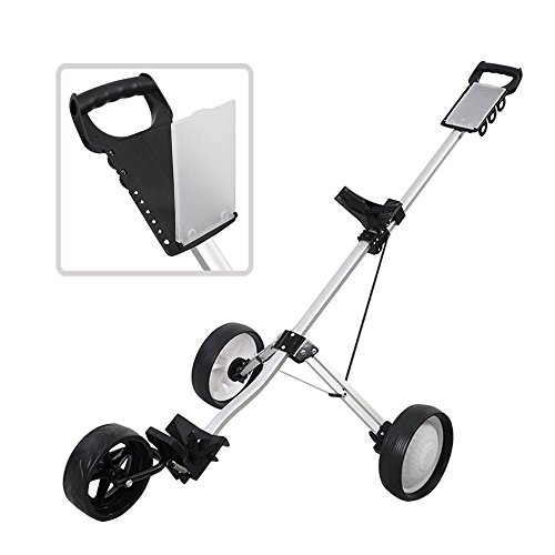 Golf Clubs & Equipment New Foldable 3 Wheel Push Pull Golf Cart Folding Trolley Three Wheels - Online Catalog Products Quality Bicycle