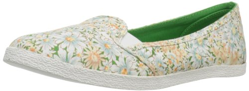 BC Footwear Womens To The Rescue Fashion Sneaker Green Floral whky6aIZ